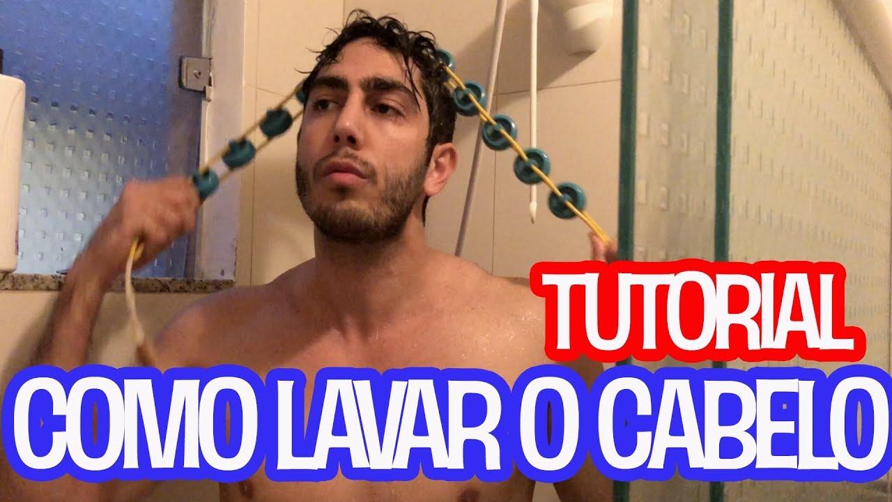 TUTORIAL: Como Lavar o Cabelo - JONATHAN NEMER
