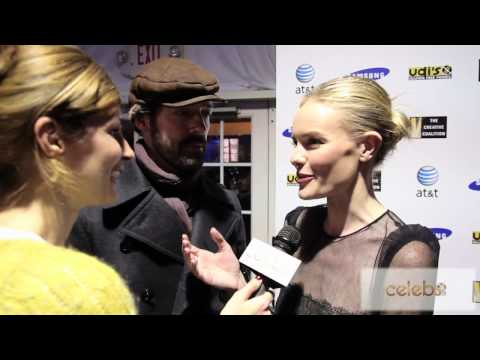 Kate Bosworth and Michael Polish talk about Sundance 2012
