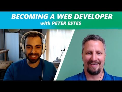 Becoming a Web Developer with Peter Estes