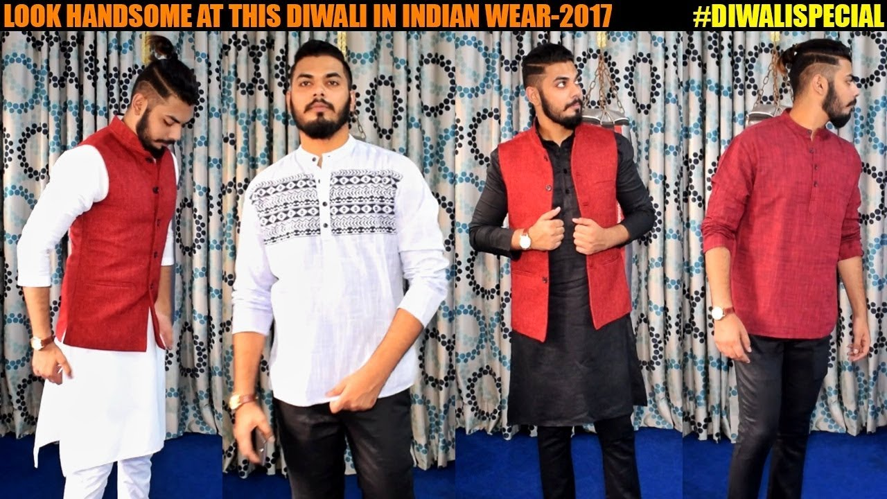 e4fa3f67fc7 2017 -INDIAN Traditional   ETHNIC Wear for Men -