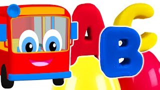 Kids Learn Colors & Play Doh Alphabet | Teach ABC Song for Children, Fun Colours Rhymes for Toddlers
