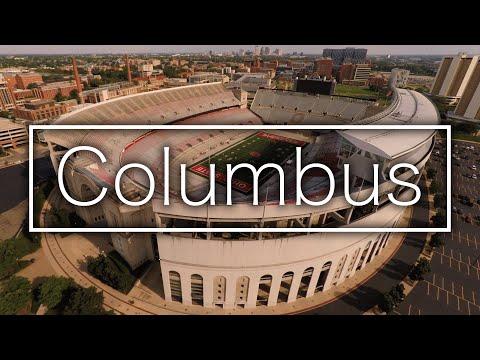 Columbus by Drone - VINTAGE Drone Tech (DJI Phantom 2 + GoPro Hero4)