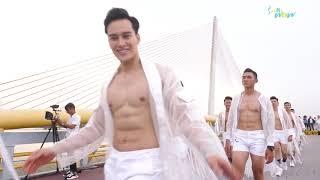 Fitness Model 2019 trình diễn thời trang cầu đi bộ Đà Nẵng | SannyWow Fitness & Yoga