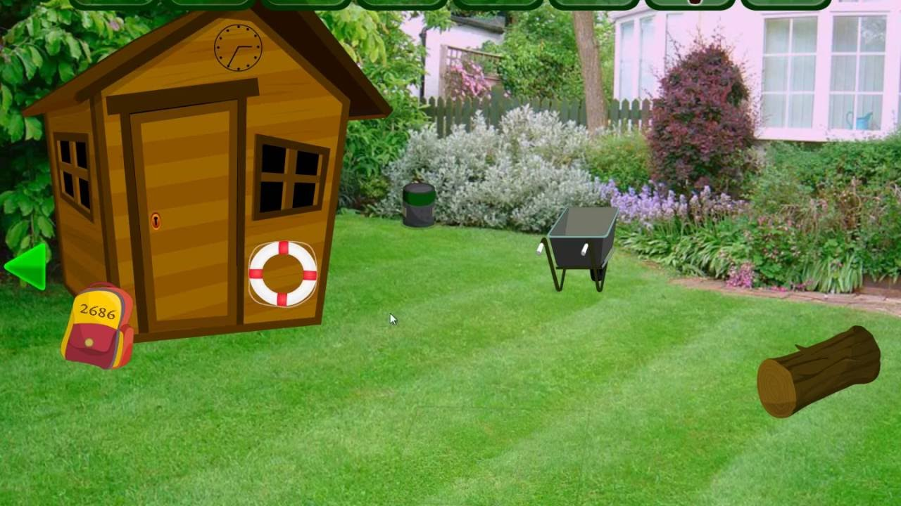 lawn backyard escape -- walkthrough - youtube