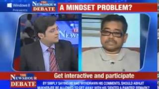 The Best Indian Debate Ever - Arnab Goswami VS Abhijit Mukherjee