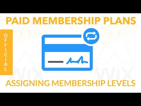 How To Build A Paid Membership Website in Wix | Recurring Monthly Payment Plans