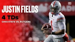 Justin Fields Throws 4 TDs in No. 2 Ohio State