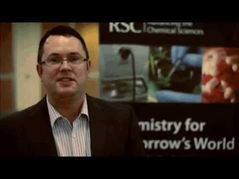 2011 Chemistry World Entrepreneur of the year winner - Dr Karl Coleman.wmv