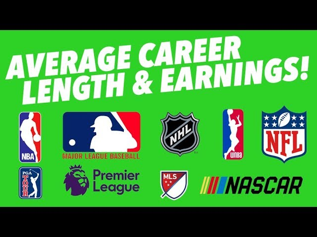what-is-the-average-career-length-and-earnings-for-every-sport-nfl-nba-nhl-mlb-and-beyond