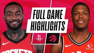 ROCKETS at RAPTORS | FULL GAME HIGHLIGHTS | February 26, 2021