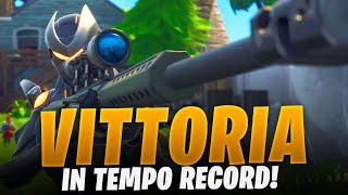 A REAL VICTORY IN RECORD TIME! FORTNITE ITA