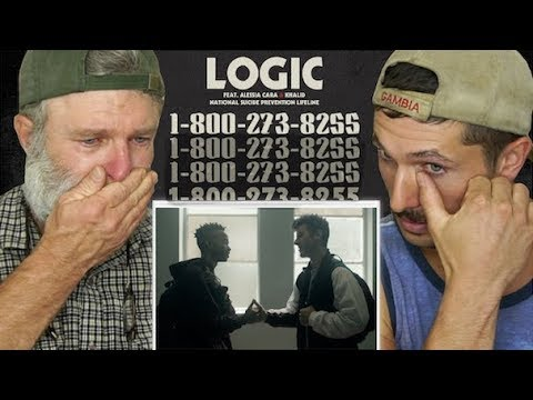 Gay Guys React- Logic - 1-800-273-8255 ft. Alessia Cara, Kha