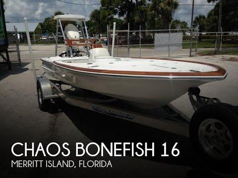 [UNAVAILABLE] Used 2012 Chaos Bonefish 16 In Merritt Island, Florida