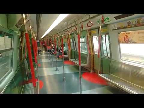 Hong Kong MTR East Rail Line - FULL Ride*