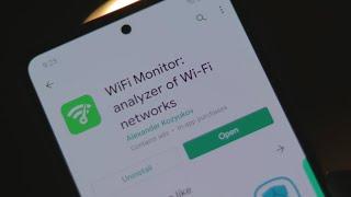 WiFi Monitor: analyzer of WiFi networks - WiFi Apps Review screenshot 2