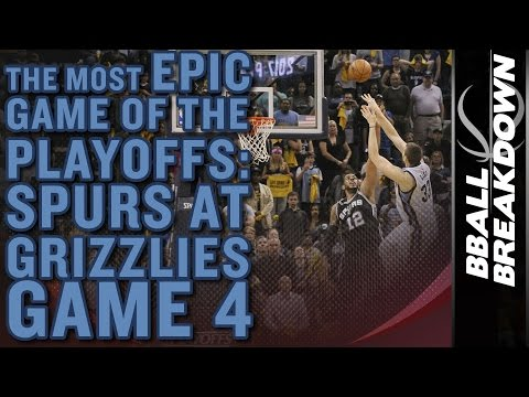 The Most EPIC Game Of The 2017 NBA Playoffs Yet: Spurs At Grizzlies Game 4