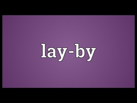 lay-by-meaning