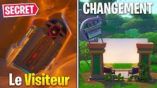 ALL CHANGES AND SECRETS OF MAP SAISON 10 on FORTNITE BATTLE ROYALE...