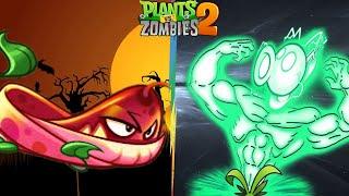 Plant Vs Zombie 2 - Chiến Thuật Mạnh Nhất Pyre Vine Và Đậu Điện Battlez Mùa Mới - Hoa Quả Nổi Giận 2