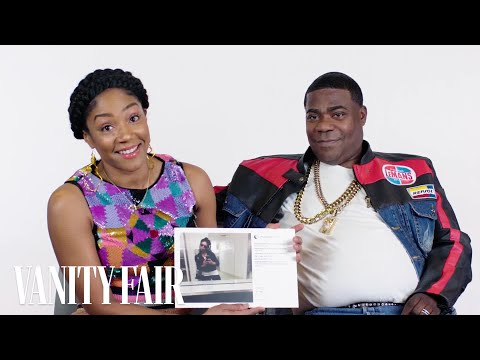 Tify Haddish and Tracy Morgan Explain Their Instagram Photos  Vanity Fair