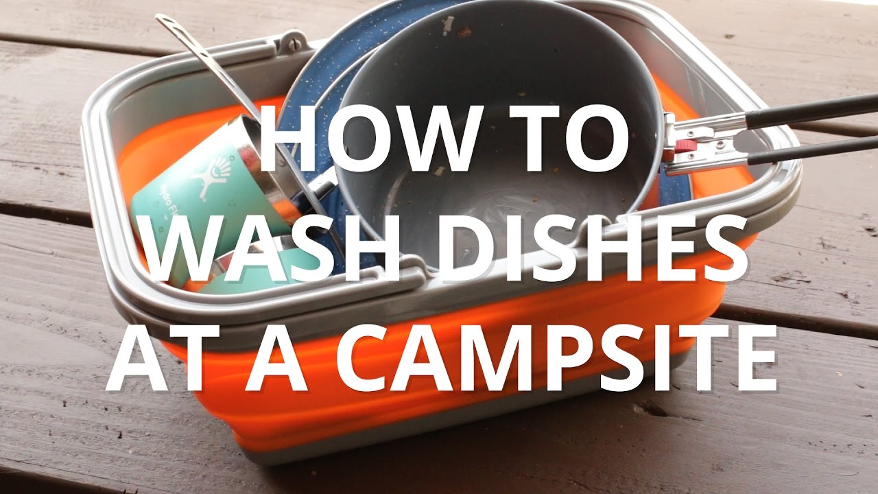Watch How to Clean Dishes on a Camping Trip video