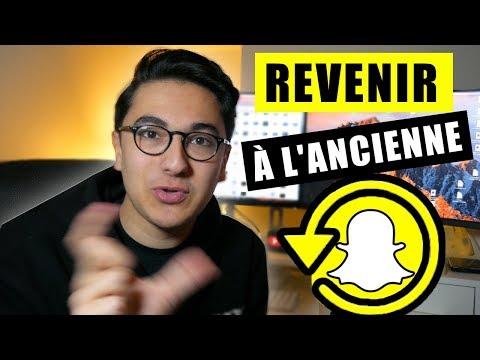 Revenir à l'ancienne version de Snapchat !