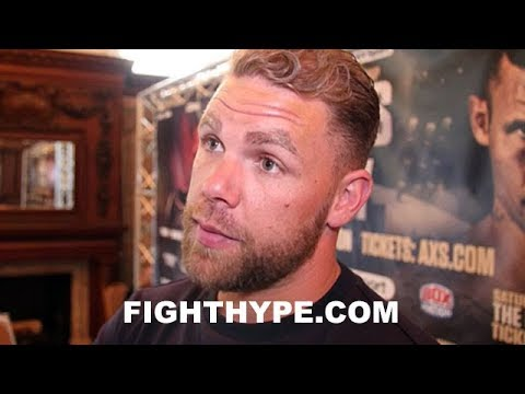 "(WHOA!) BILLY JOE SAUNDERS TELLS JERMALL CHARLO ""I'LL GIVE HIM A PASTING LIKE THAT WOMAN DID"""