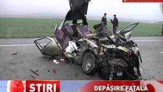 Un mort și trei răniți, într-un accident produs în județul Bacău