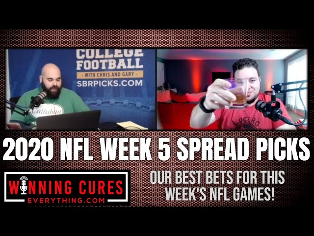 NFL 2020 Week 5 Best Bets Picks Against the Spread!