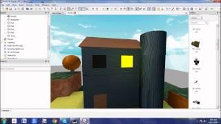 ROBLOX Tutorial: PorfessorHD's Building Lessons: Episode 1