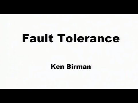 Evolution of fault tolerance