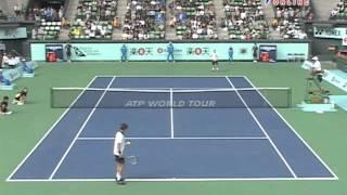 楽天 OPEN 2009 準々決勝 Eロジェルバセラン VS Lヒューイット