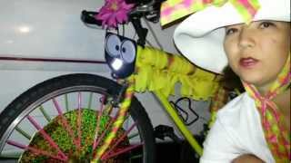 Burning Man Bike - First Timer Perspective - 7 Days - Bike decorating