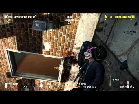 I'm playing the game of my favorite movie! - Payday 2 with my Buds |
