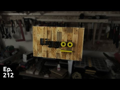 Fabrication d'une pancarte et test en situation lampe USB rechargeable liggoo - Ep 212