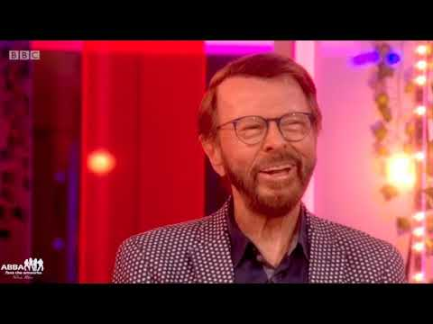 "Björn Ulvaeus at the BBC ""The one show"" London october 2nd 2018"