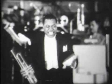 Louis Armstrong 1938 & His Orch. With Henry Red Allen, Newsreel - Medley -new Mix