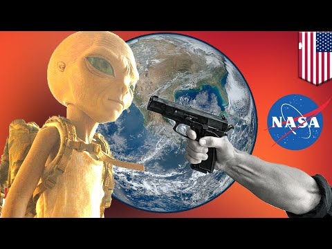 NASA hiring space cop for alien defense and planetary protection - TomoNews