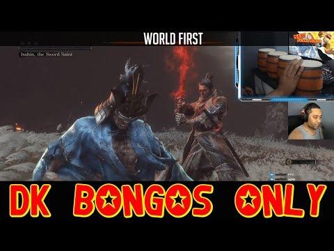 """Durchgetrommelt: Spieler meistert """"Sekiro"""" mit Donkey-Kong-Bongos"""