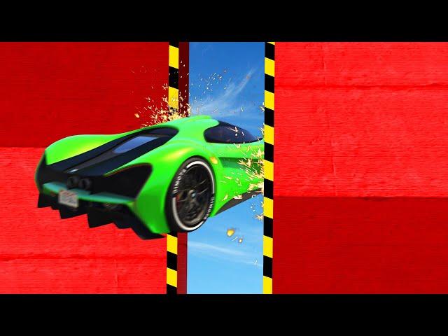 SMALL Gap vs. BIG Car! (GTA 5 Funny Moments)