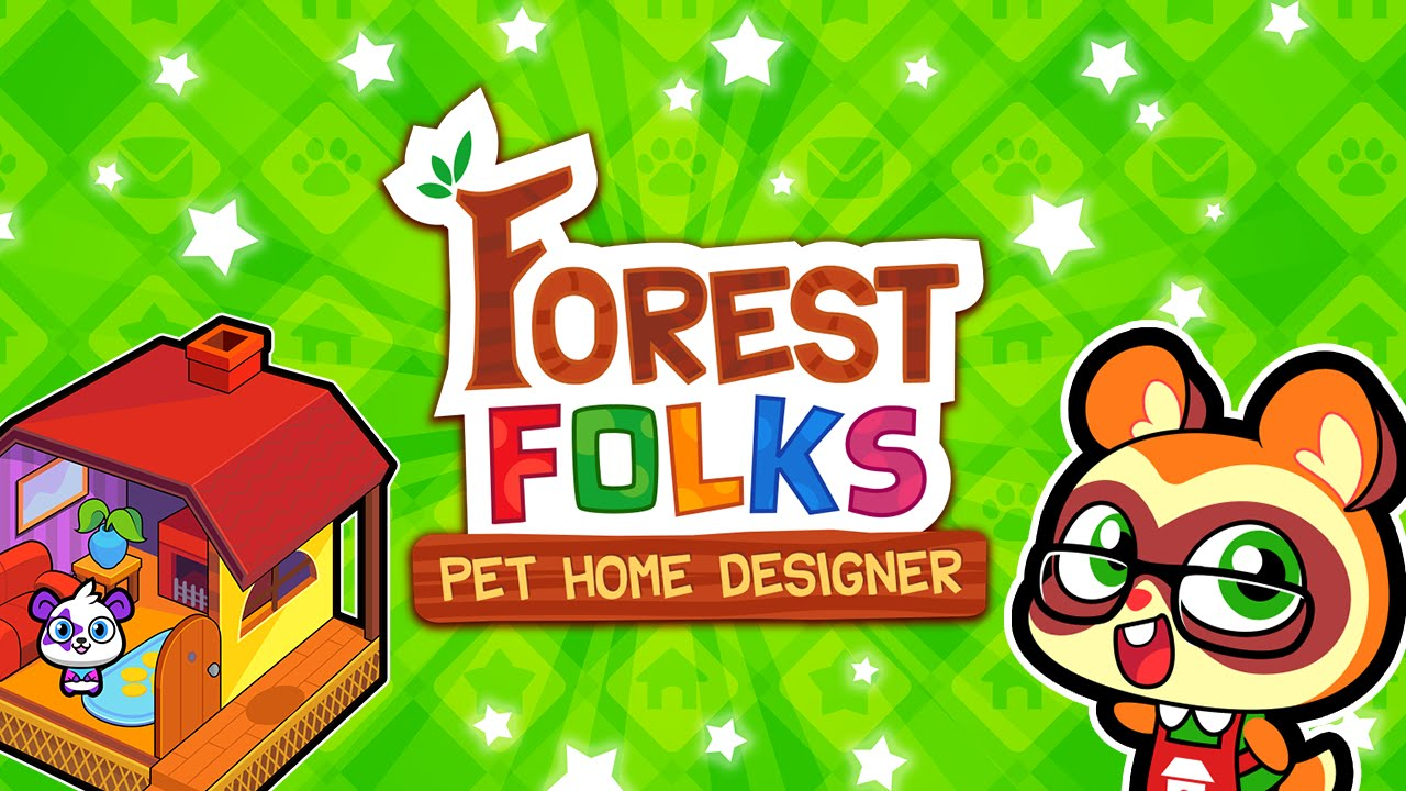 forest folks pet home designer game for iphone and android youtube