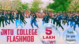 JNTUA College of Engineering Pulivendula,  PHASOR 2K18, Flashmob by EEE Students