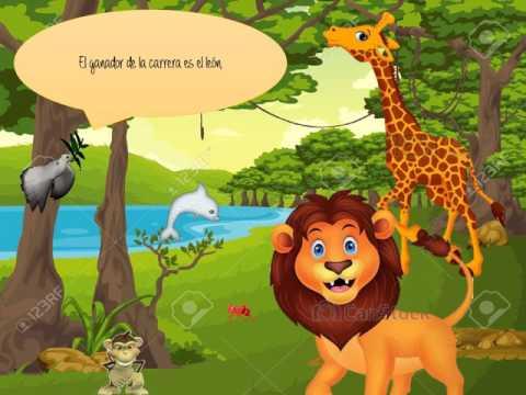 Learn English Through Story 👉 The Lion and the Rabbitиз YouTube · Длительность: 6 мин36 с