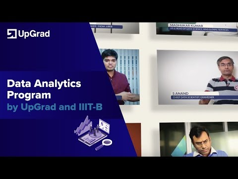 Data Analytics Program by UpGrad and IIIT-B (Introduction to PG Diploma)