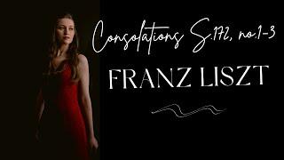Angela Otcuoglu - Liszt Consolations S.172, no.1-3