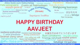 Aavjeet   Languages Idiomas - Happy Birthday