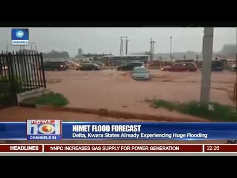 NIMET Raises Flood Alert,Lists States To Experience Flooding