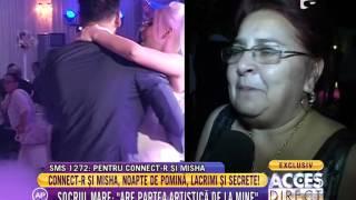 """Mama lui Connect-R: """"Misha mi-a intrat la suflet!"""""""