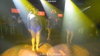 LADIES SALSA Dance Performance At THE SALSA ROOM
