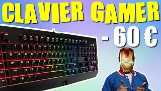 TOP 3 CLAVIER GAMER PAS CHER A MOINS DE 60€ ! [BONS PLANS PC]